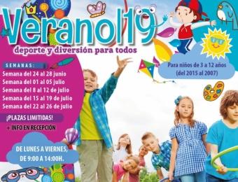 Actividades infantiles verano 2019 Radsport Seseña